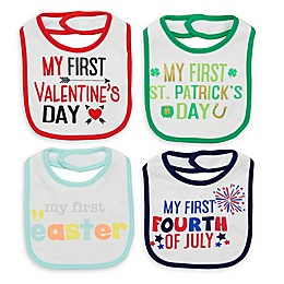 Baby Starters® 4-Piece My First Holidays Bib Set