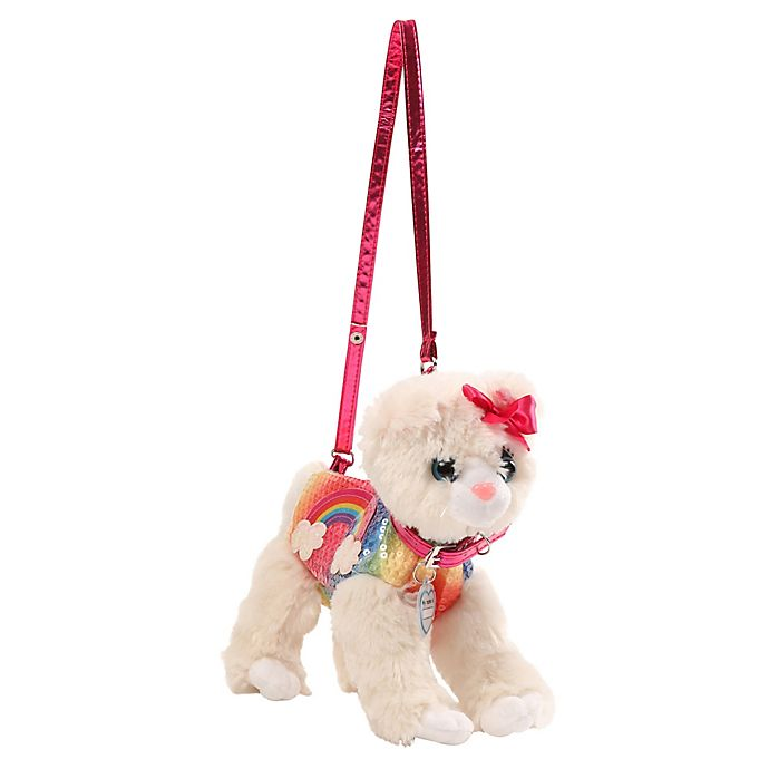Alternate image 1 for Poochie and Co® Rainbow Cat Bag