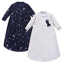 Yoga Sprout Size 0-9M 2-Pack Bear Long Sleeve Fleece Wearable Blankets