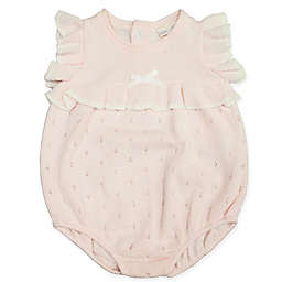 Clasix Beginnings™ by Miniclasix® Size 3M Pointelle Sweater Romper in Pink