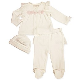 Clasix Beginnings™ by Miniclasix® 3-Piece Take Me Home Top, Pant, and Hat Set