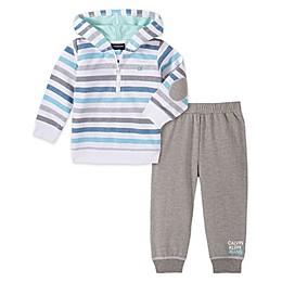 Calvin Klein 2-Piece Fleece Hoodie and Pant Set