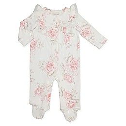 Clasix Beginnings™ by Miniclasix® Floral Coverall in Ivory