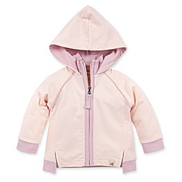 Burt's Bees Baby® Zip-Front Organic Cotton Hoodie in Dawn