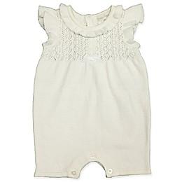 Clasix Beginnings™ by Miniclasix® Sweater Romper in Ivory