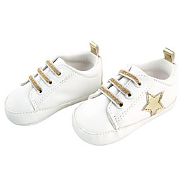Rising Star™ Gold Star Sneaker in White