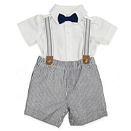 Clasix Beginnings™ by Minibasix® 3-Piece Shirt, Suspender and Short Set