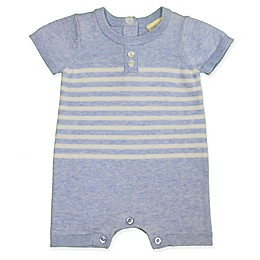 Clasix Beginnings™ by Miniclasix® Stripe Sweater Romper in Blue