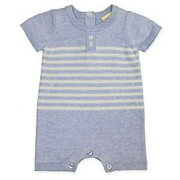 Clasix Beginnings™ by Miniclasix® Stripe Sweater Romper in Blue
