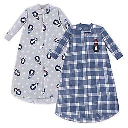 Hudson Baby 2-Pack Fleece Long Sleeve Sleeping Bags
