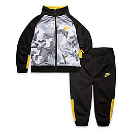 Nike® 2-Piece Camo Futura Jacket and Jogger Set in Grey