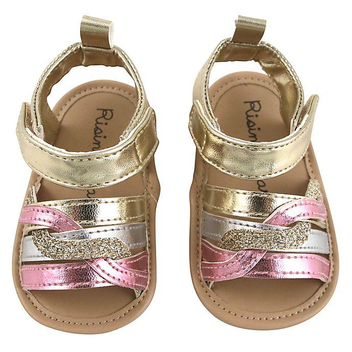 Alternate image 1 for Rising Star® Braids Sandal in Gold