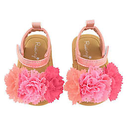 Rising Star® Size 3-6M Flower Sandal in Pink
