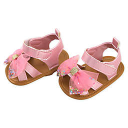 Rising Star® Glitter Bow Sandal in Pink