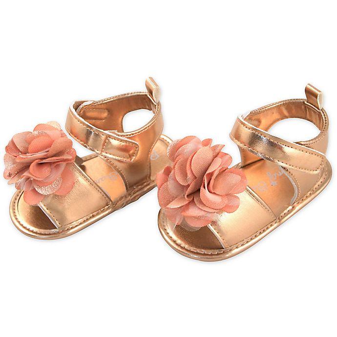Alternate image 1 for Rising Star® Mr. Flower Sandal in Rose Gold