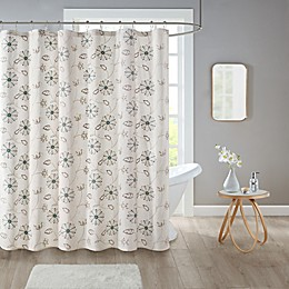 Isabel Shower Curtain Collection in Ivory