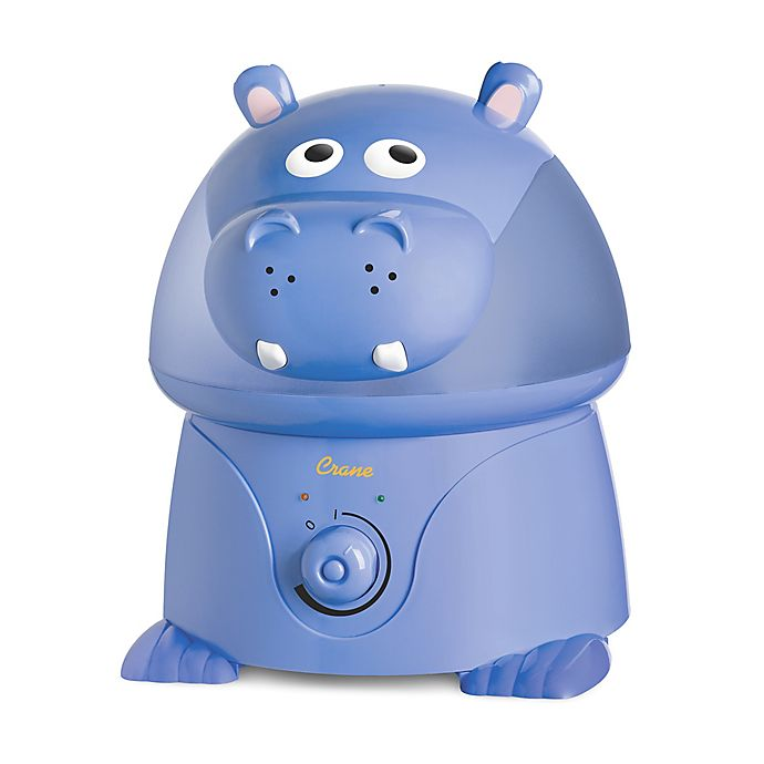Alternate image 1 for Crane Ultrasonic Cool Mist Hippo Humidifier