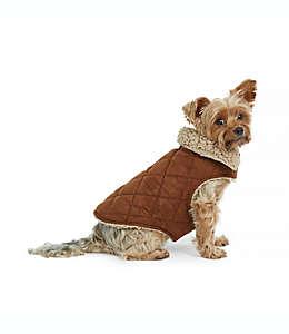 Abrigo de gamuza mediano para perro Bee & Willow™ Home en café