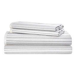 Lauren Ralph Lauren Luke 200-Thread-Count California King Sheet Set in Cream/Grey