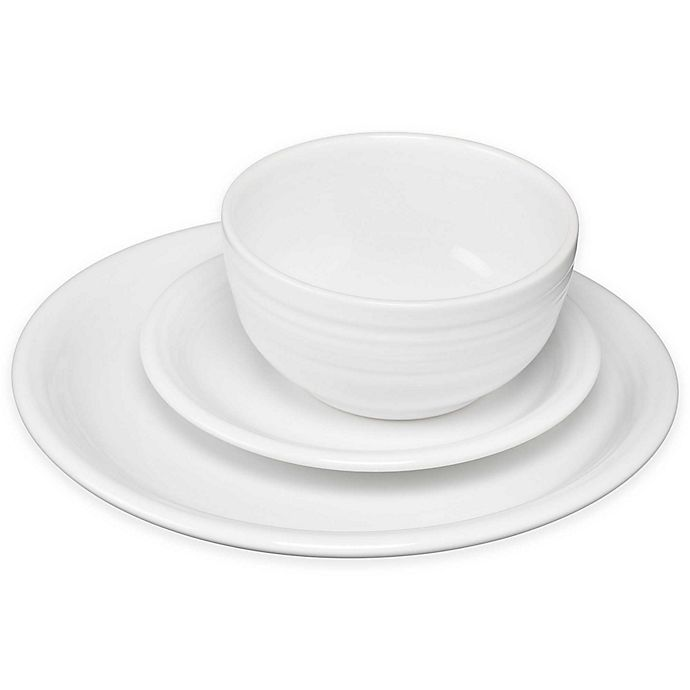 Alternate image 1 for Fiesta® Bistro Dinnerware Collection in White