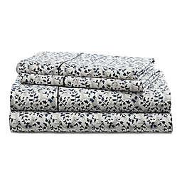 Lauren Ralph Lauren Eva 230-Thread-Count California King Sheet Set in Grey