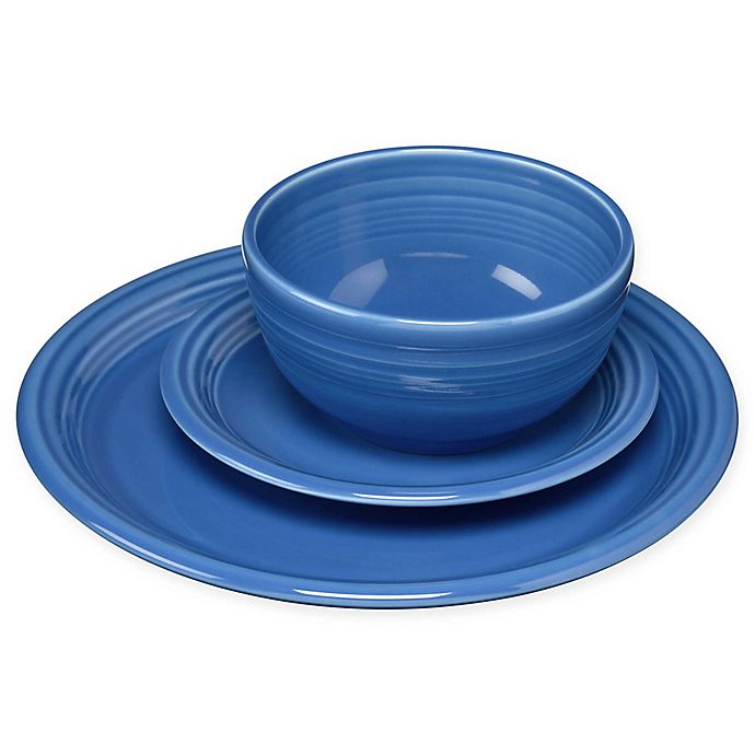 Alternate image 1 for Fiesta® Bistro Dinnerware Collection in Lapis