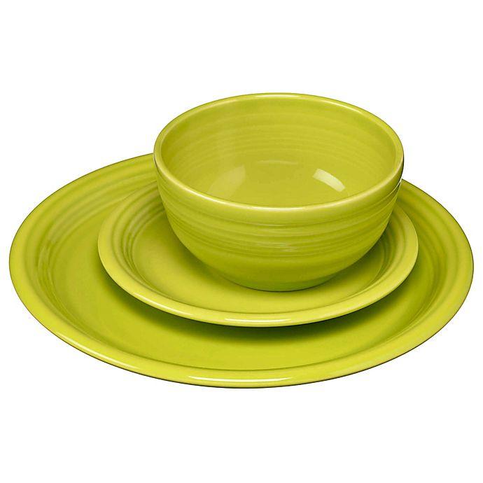 Alternate image 1 for Fiesta® Bistro Dinnerware Collection in Lemongrass