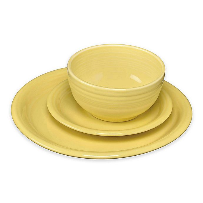 Alternate image 1 for Fiesta® Bistro Dinnerware Collection in Sunflower
