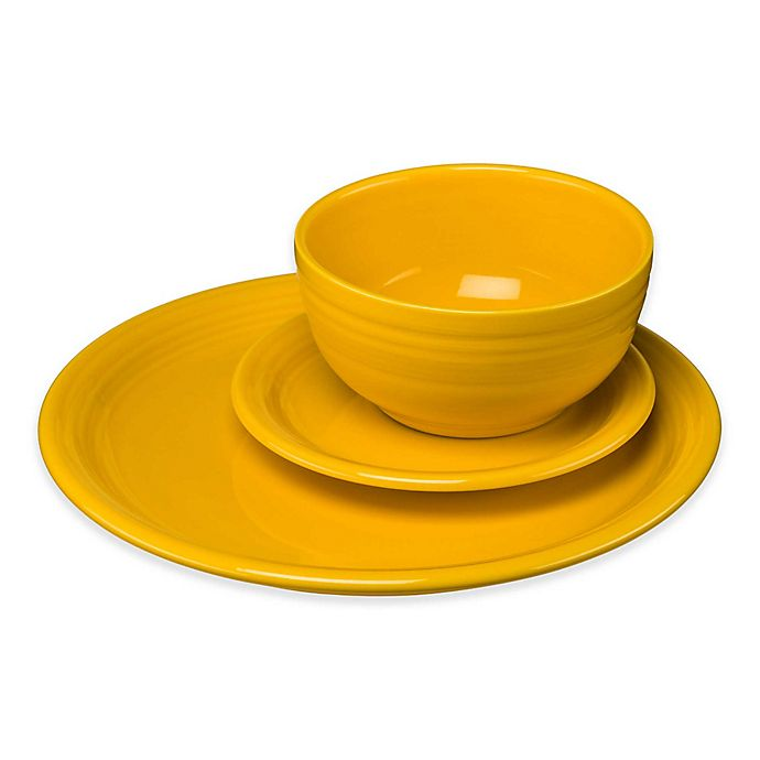 Alternate image 1 for Fiesta® Bistro Dinnerware Collection in Daffodil