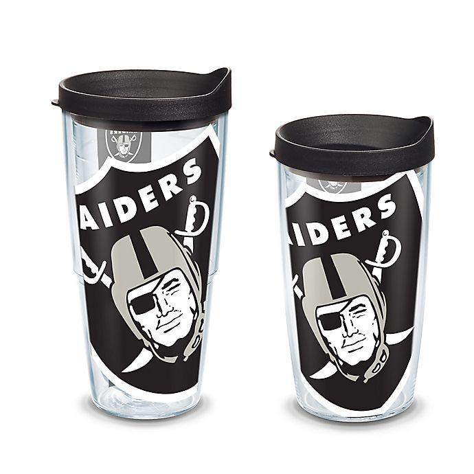 Alternate image 1 for Tervis® Colossal Wrap Las Vegas Raiders 16-Ounce Tumbler