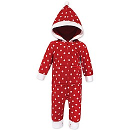 Hudson Baby® Hooded Fleece Union Suit