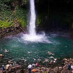 Tour and Swim at La Fortuna Waterfall in Costa Rica by Spur Experiences®