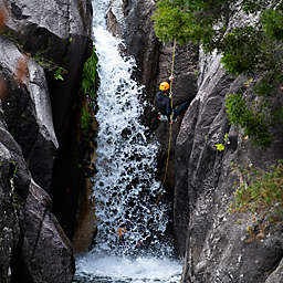 Waterfall Rappelling, Downclimbing and River-Tracing in Costa Rica by Spur Experiences®
