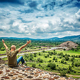 Mexico Day Tour to the Historic Teotihuacan Pyramids by Spur Experiences®