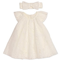 Baby Starters® 2-Piece Trapeze Dress and Headband Set