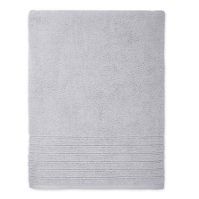 Alternate image 1 for Brookstone® SuperStretch™ Bath Sheet in Grey