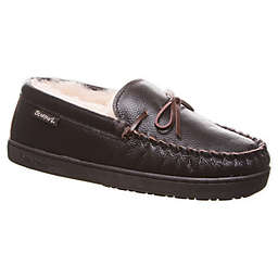 Bearpaw Men's Mach IV Leather Slippers