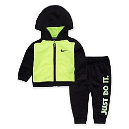Nike® 2-Piece Volt Hoodie and Jogger Set in Black