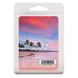 AmbiEscents™ Life's a Beach 6-Pack Scented Wax Cubes