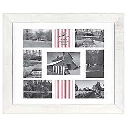Bee & Willow™ Home 9-Photo Collage Matted Picture Frame in White