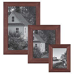 Bee & Willow™ Home 12-Inch x 18-Inch Wooden Picture Frame in Light Chocolate