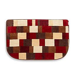 Microdry® Soft Spun 22-Inch x 32-Inch Memory Foam HD Kitchen Mat in Crimson