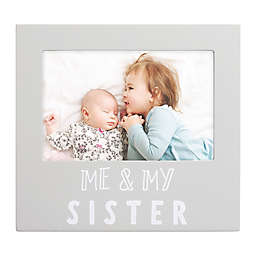 "Pearhead® ""Sisters"" Picture Frame in Grey"