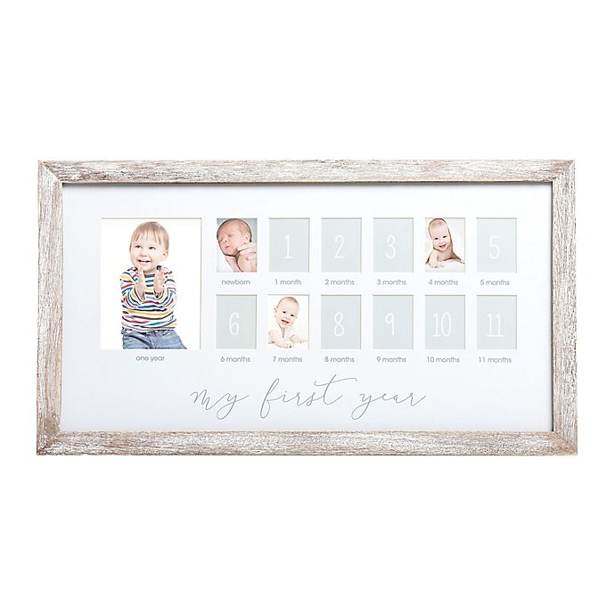 Alternate image 1 for Pearhead® Collage Frame in White