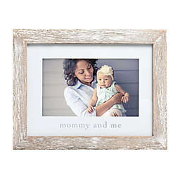 """Pearhead® """"Mommy & Me"""" Picture Frame in White"""