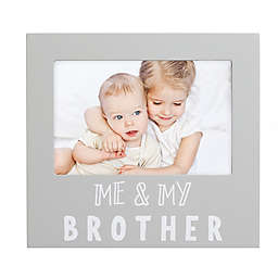 "Pearhead® ""Brother"" Picture Frame in Grey"