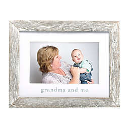 "Pearhead® ""Grandma"" Picture Frame in White"