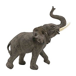 Global Caravan™ Elephant Statue in Grey