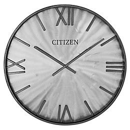 Citizen Gallery 24-Inch Frame and Dial Wall Clock in Grey