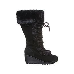 Bearpaw Minka Suede Wedge Boots